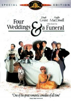 Four Weddings A Funeral DVD